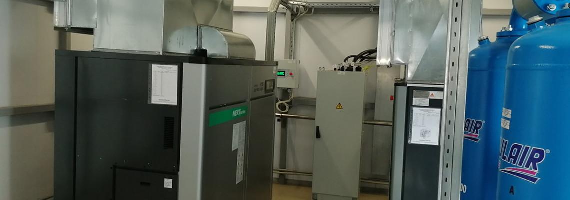 Проектирование и запуск безмасляной компрессорной станции HITACHI в г.Белгород